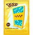 Taxi services vector image