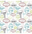 Seamless pattern with different hand drawn vector image