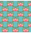 Stylized Lotus Background vector image