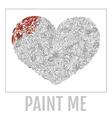 Decorative Love Heart vector image