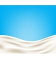 Milk background vector image