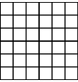 Black White Grid Chess Board Background vector image
