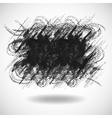 gray grunge abstract background vector image