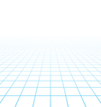 Perspective grid background vector image