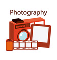 photography camera vector image