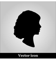 Black and White of a Cameo vector image