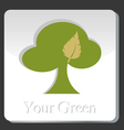 Your Green vector image vector image