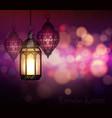 ramadan kareem greetings vector image