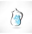 milk jug grunge icon vector image vector image