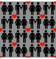 gay LGBT seamless pattern vector image