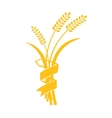 Ears of Wheat Barley or Rye visual graphic vector image