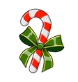Christmas decorative candy vector image
