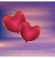 Heart Shaped Balloons5 vector image vector image
