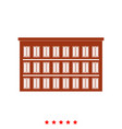 hotel it is icon vector image