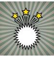 comic pop art expression vector image