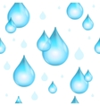 Rain Drop Seamless Pattern Background vector image vector image