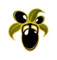 Olives symbol vector image