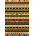 Ethnic carpet vector image