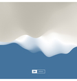 Abstract Landscape Background 3d terrain vector image