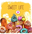 Sweet Sketch vector image