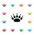 isolated paw icon claw element can be used vector image