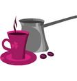 coffee drink vector image
