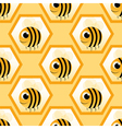 bee with text vector image