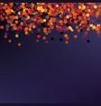 halloween greeting card - halloween party vector image