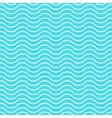 Wave background seamless pattern waved vector image