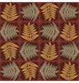 herbal pattern vector image vector image