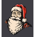 Portrait Santa Claus vector image