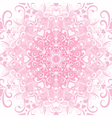 filigree valentine floral frame vector image vector image