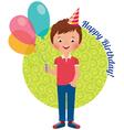 Birthday boy vector image