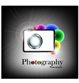 photography background vector image
