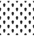 singer mask pattern vector image