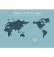 World map of Information Graphics vector image