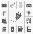 Electricity and Power icons vector image