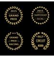 Grand Prix vector image
