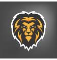 lion head Sport mascot vector image