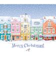 Winter cityscape 3 vector image