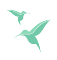 Exotic bird Hummingbird vector image