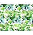 Watercolor spring pattern vector image