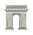 Arch of triumph vector image
