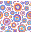 Colorful seamless background vector image