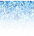 abstract blue glow background vector image