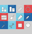 planning pregnancy and birth control vector image