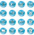 real etate icons vector image vector image