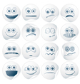 paper faces vector image vector image