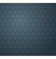 Abstract dark blue geometric seamless pattern vector image