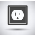 Electric outlet icon vector image